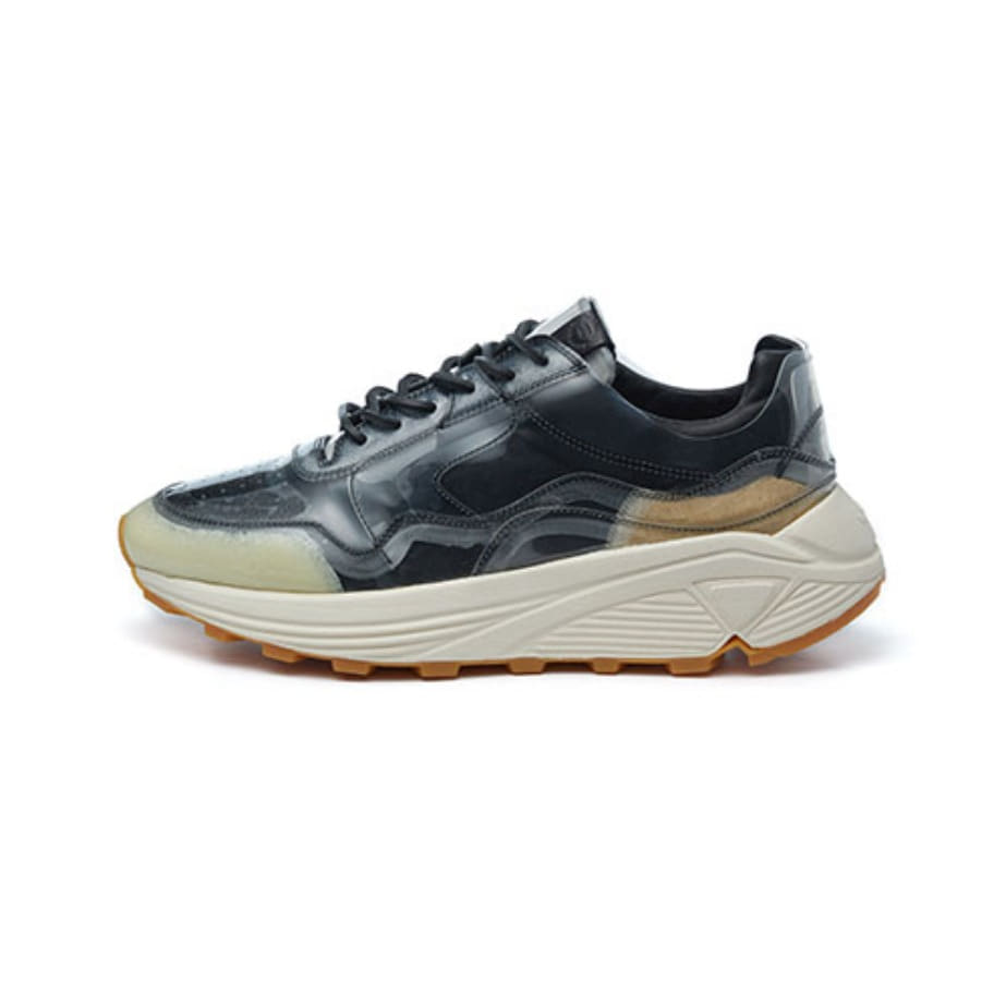 Women's Vinci Low PVC_Nero