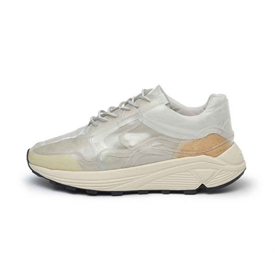 Men's Vinci Low PVC_Bianco